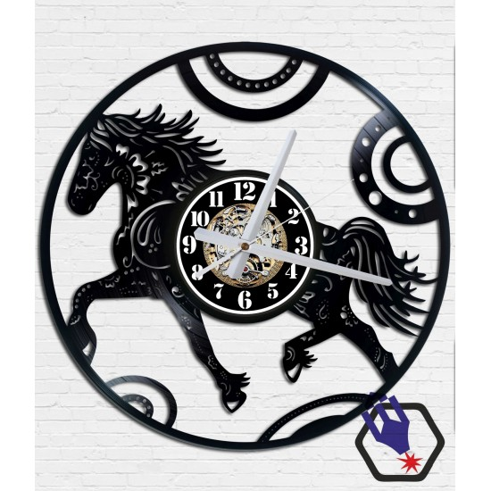 Horse - Bakelit falióra